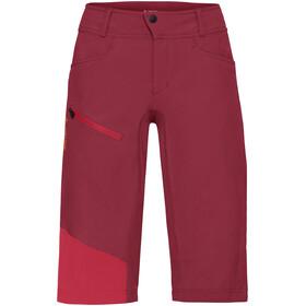 VAUDE Moab III Cykelbyxor Dam röd